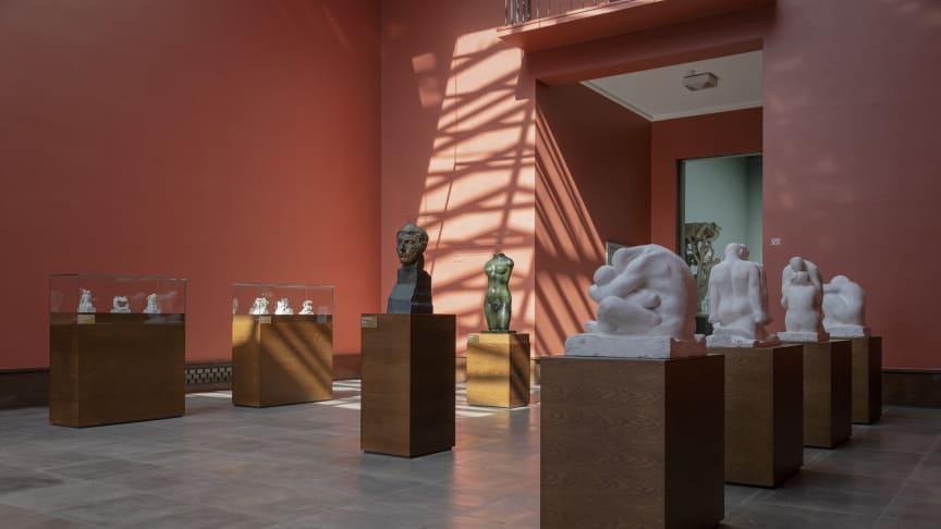 Jubileumsutstillingen PARALLELLER. Gustav Vigeland og hans samtidige står fram til 15.09. (Foto: Carsten Aniksdal / Vigeland-museet)