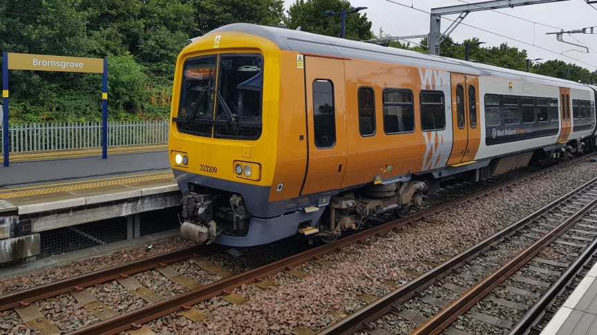Electric trains on the Cross City line will be able to operate to and from Bromsgrove from 29 July onwards