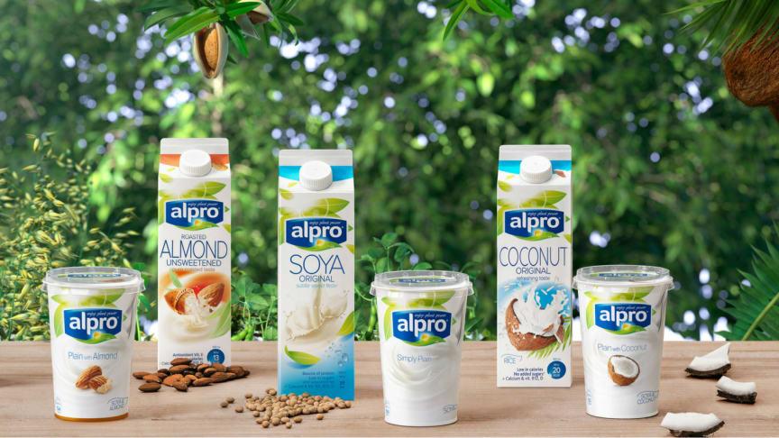 God salgsutvikling for plantebaserte alternativer til melk