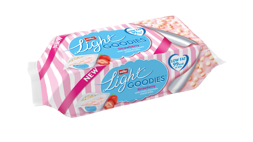 Müllerlight launches NEW Müllerlight Goodies - still an unbelievable 99 calories or less!