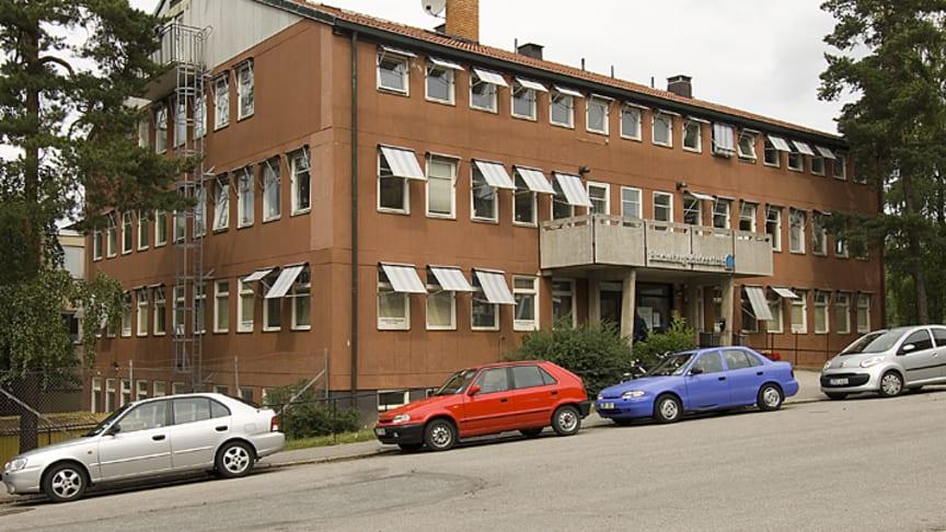 Huset fullt i Blackeberg