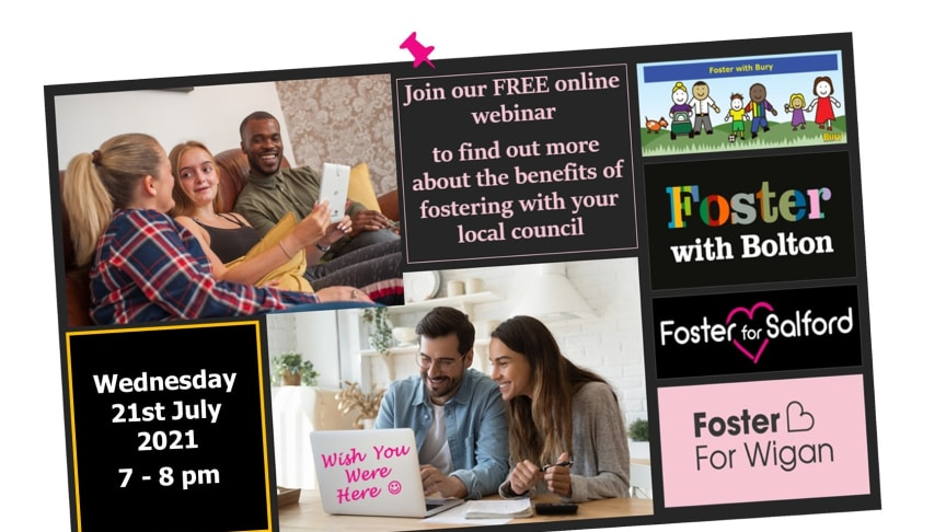 Considering becoming a foster carer? Find out more at our webinar