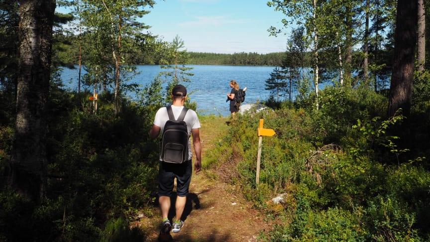 Järnleden första vandringsleden att ta plats i Storyspot
