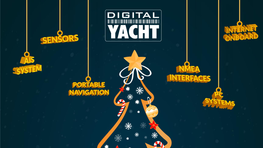 Happy Christmas 2020 from the Digital Yacht team