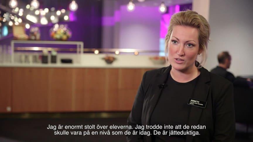 Hotellutbildningen, Realgymnasiet HT2018 - intervju med elever