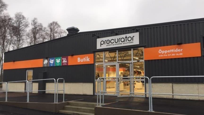 Den nya butiken ligger på Dagvindsgatan 1, Karlstad