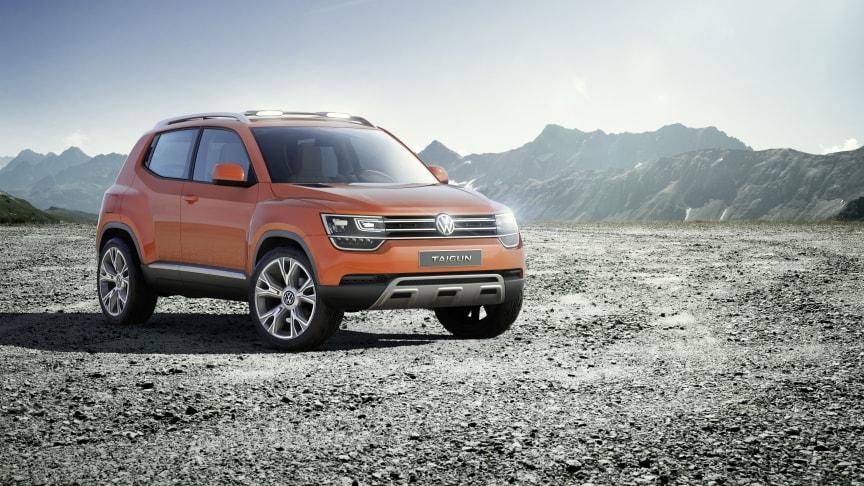 Volkswagen presenterar SUV-konceptet Taigun