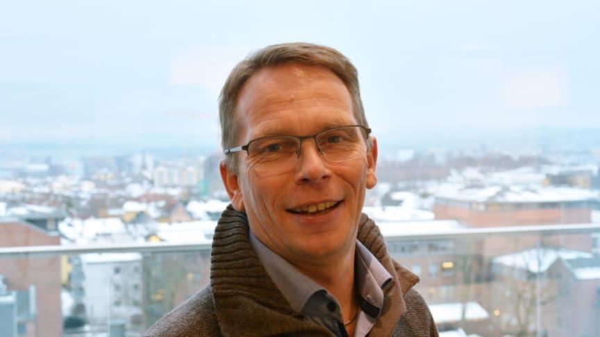Direktør i prosjektavdelingen i Undervisningsbygg, Tore Moger. Foto: Benedicte Nylund
