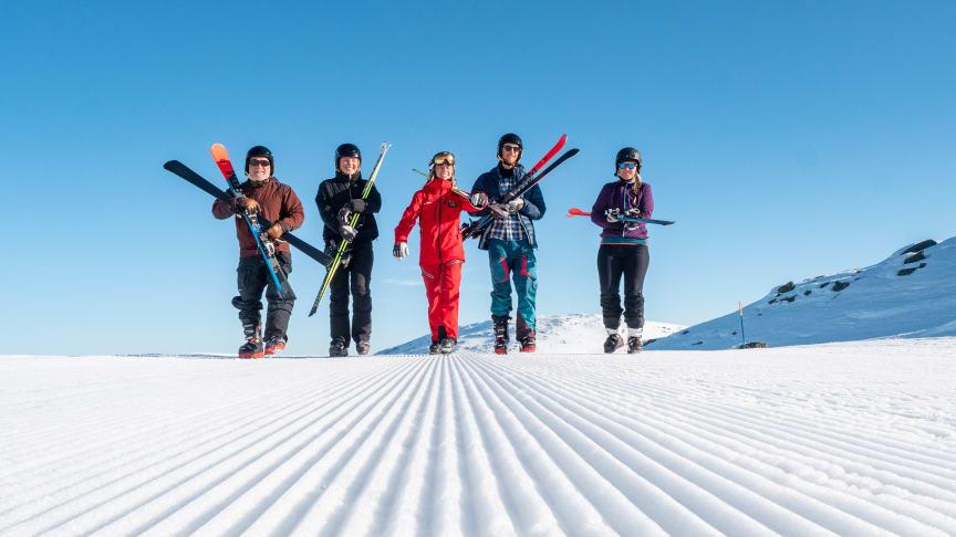 Trysil vil rekruttere flere norske skikjørere. Foto: Johan Huczkowsky, Skistar AB