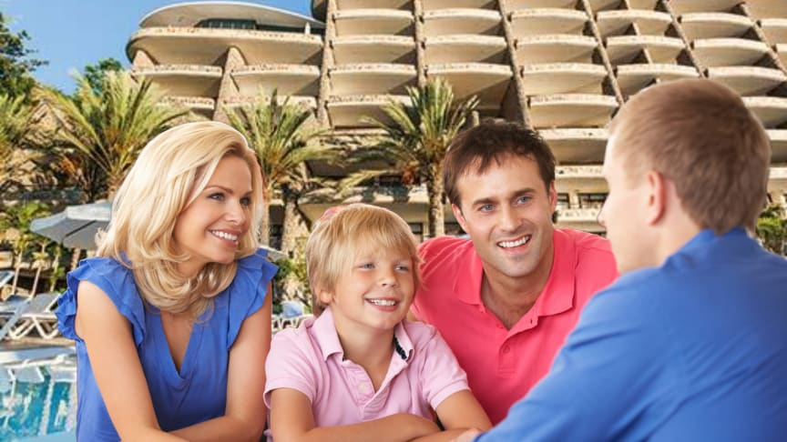 Stay focussed if you want to navigate a timeshare presentation safely