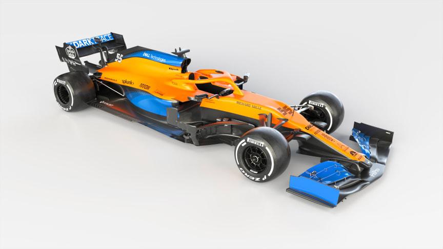 AkzoNobel обеспечит надежную теплозащиту нового стильного болида MCL35 команды McLaren