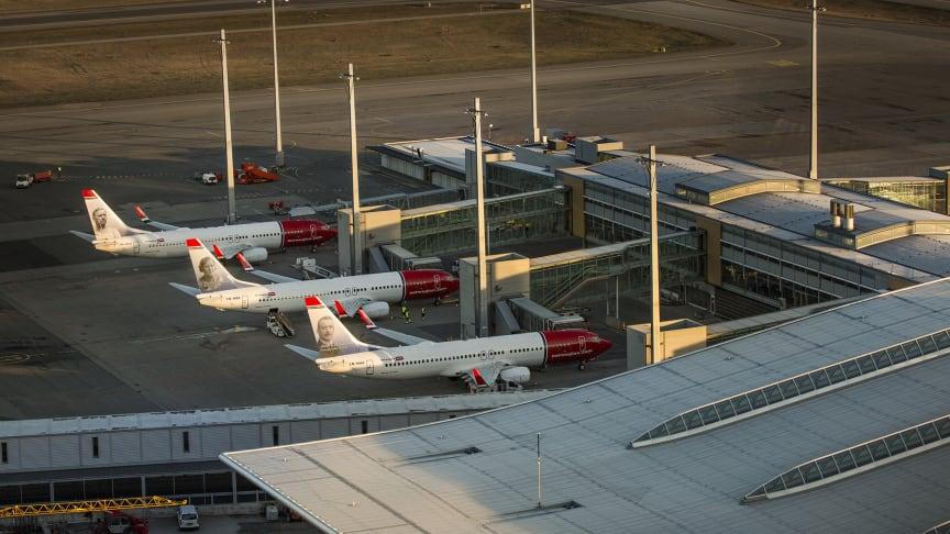 Norwegian: Stigning i trafiktal for juli