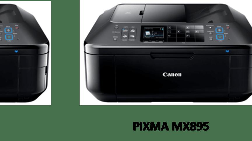 Nye, avanserte multifunksjonsprodukter fra Canon – PIXMA MX715 og PIXMA MX895
