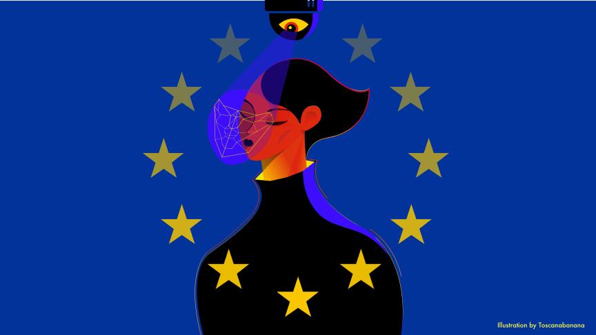 Illustration: Toscanabanana för Amnesty International