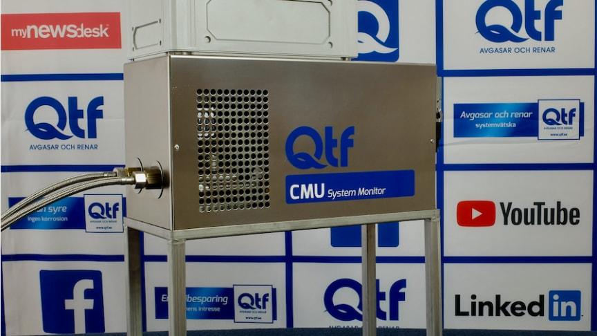 CMU System Monitor från QTF ger systemägare kontroll på syrenivåer i systemvätska