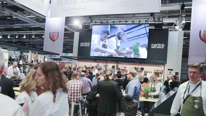 Martin & Serveras monter på GastroNord 2016