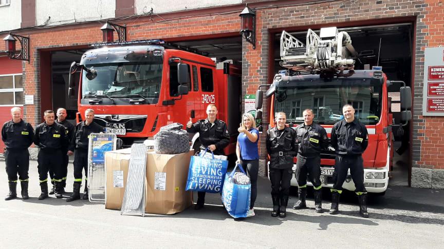 Wsparcie inicjatywy Strażaków, JYSK wyposaża unikatowe Interaktywne Centrum Edukacji