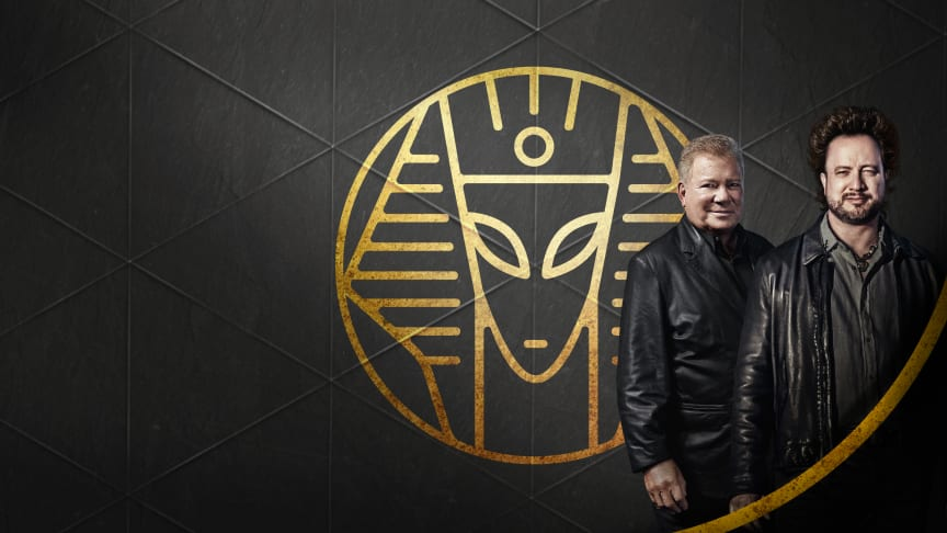 William Shatner Meets Ancient Aliens (part of Summer of Secrets) on The HISTORY Channel