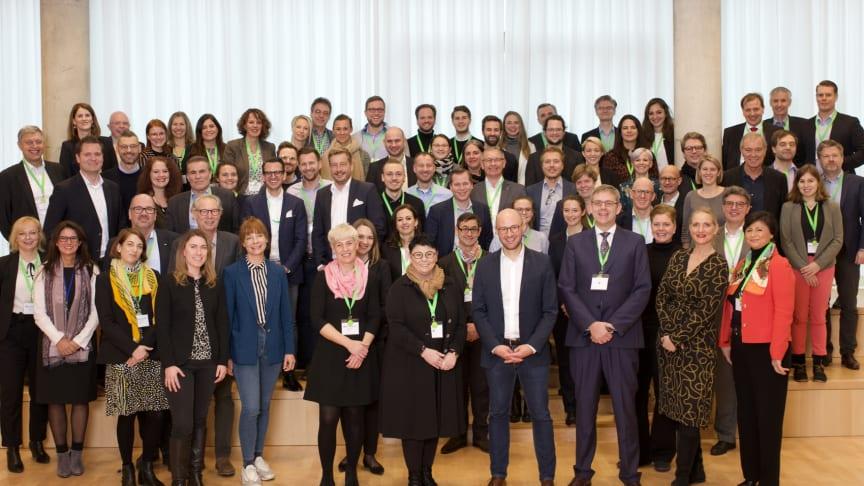 Die Mitglieder des Rezyklat-Forums trafen sich am 11. Dezember in Karlsruhe, um sich über die künftige Ausrichtung des Forums zu verständigen.