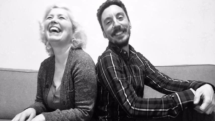 Joana Gallego och Ivan Rojas bildar Göteborgs första spansktalande teater.  Foto: Teatro Eñe