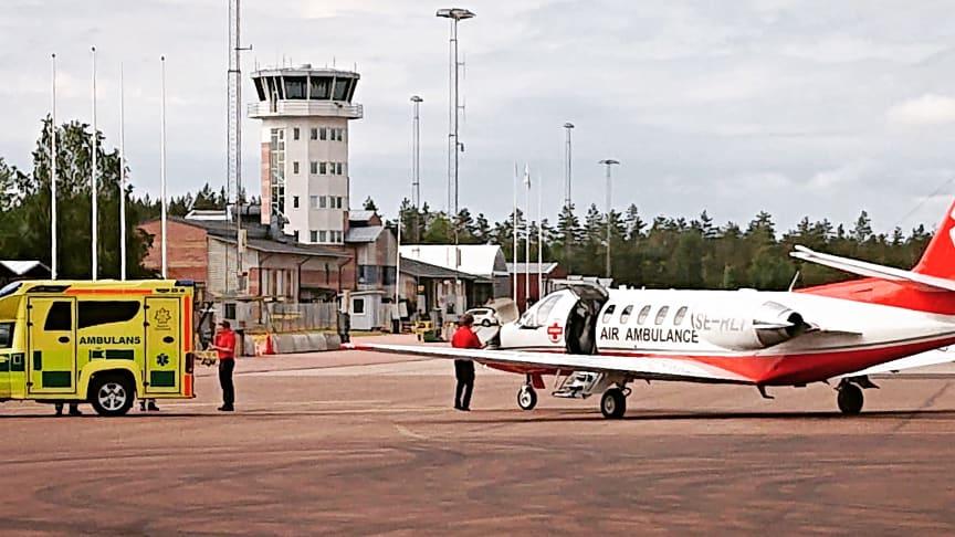 Karlstad Airport blir beredskapsflygplats