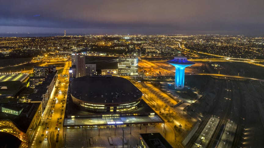 Området Hyllie i Malmö ska laddas och lyftas i ett nytt projket finansierat av Tillväxtverket. Photo:  News Øresund - Anna Palmehag
