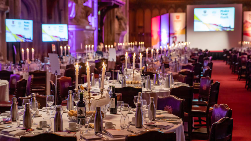 The Guildhall before the London Sport Awards 2020