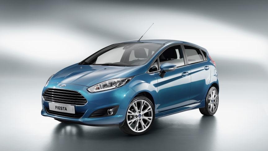 Ford presenterar stilfulla nya Fiesta – avancerad teknik med SYNC, MyKey och en 1,0-liters EcoBoost-motor