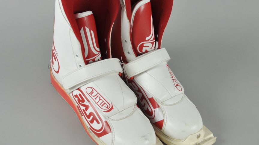 Maren Lundbys skistøvler