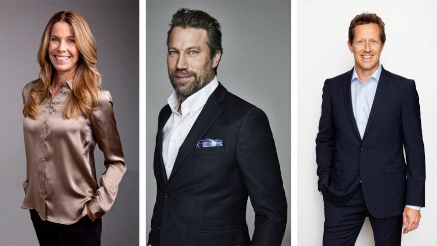 Magdalena Forsberg, Peter Forsberg och Jonas Björkman finns nu på memmo