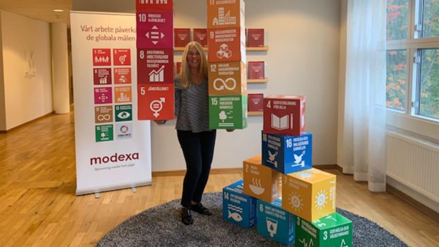 Ann-Kathrin Espelin Hållbarhetsstrateg Modexa