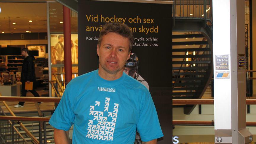 Skellefteå AIK:s Jocke Lindström ökar uppmärksamheten kring klamydia