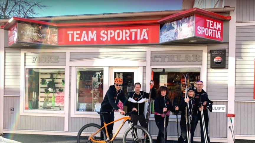 Team Sportia erhåller miljöpris