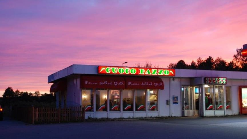 Pizzeria Cuoco Pazzo, Järna, ur serien Pizzeria Sweden. Foto: Josefina Barker