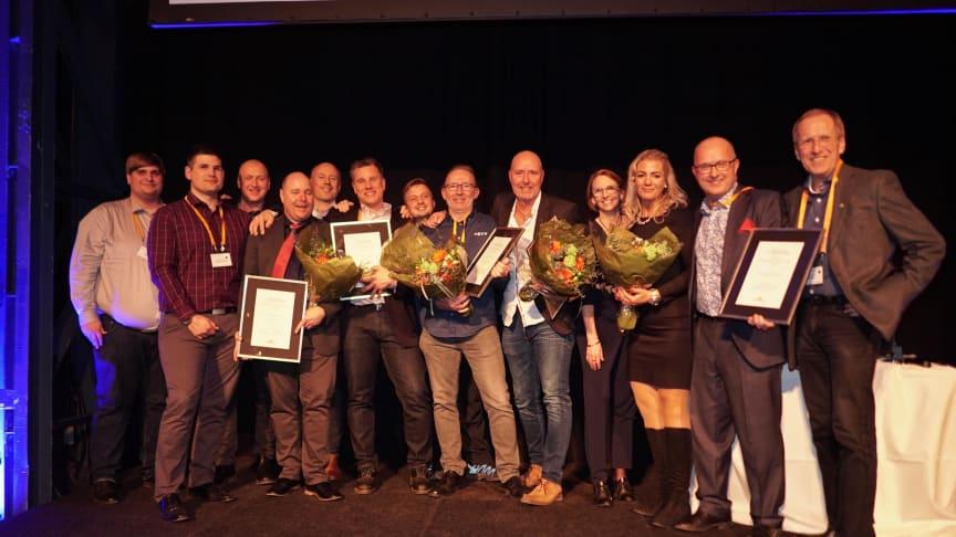 Vi gratulerar IoT Blekinge till utmärkelsen för Årets Stadsnät vid Svenska Stadsnätsföreningens årskonferens i Göteborg!