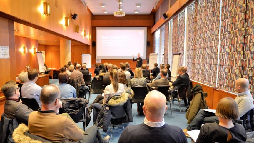 Sveriges BergMaterial Industris workshop för fossilfri bergmaterialindustri besöktes av Märsta Förenade.