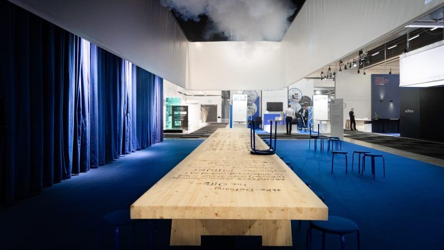 Tengbom synar morgondagens arbetssätt i utställning på Stockholm Furniture & Light Fair