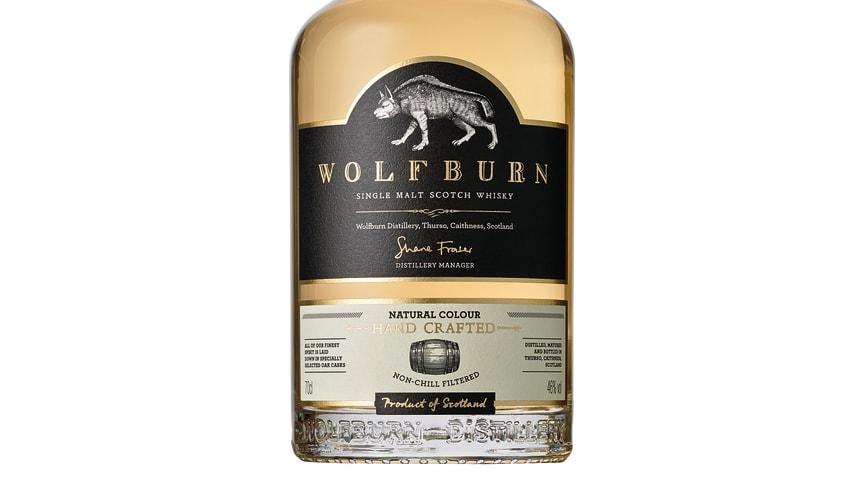 Viking Lines försäljning av maltwhisky ökar med 40 procent - lanserar exklusivt samarbete med skotska Wolfburn