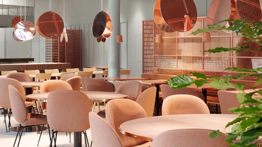 Hotellets restaurang, Norobata är inspirerad av det japanska kökets förmåga att renodla och förhöja smakupplevelser och texturer av högsta kvalité