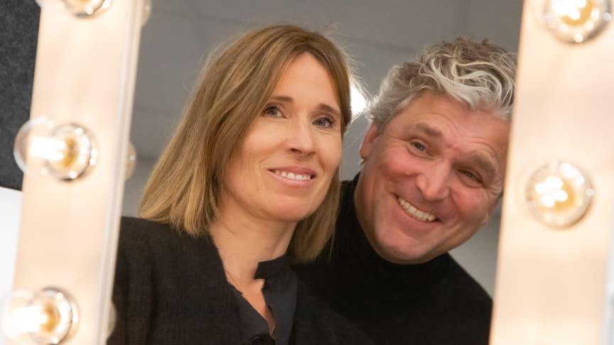 Madelene och Johan Sarskog driver startup-bolaget Brightmond