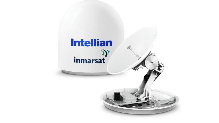 Intellian's new GX60NX antenna, now type approved for use on the Inmarsat network