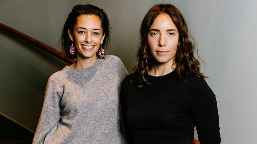 Grace Health är ett av de startupbolag som deltar i  FemTech-bootcamp.  Estelle Westling och Thérèse Mannheimer är två av grundarna. Foto:Carl Lemon