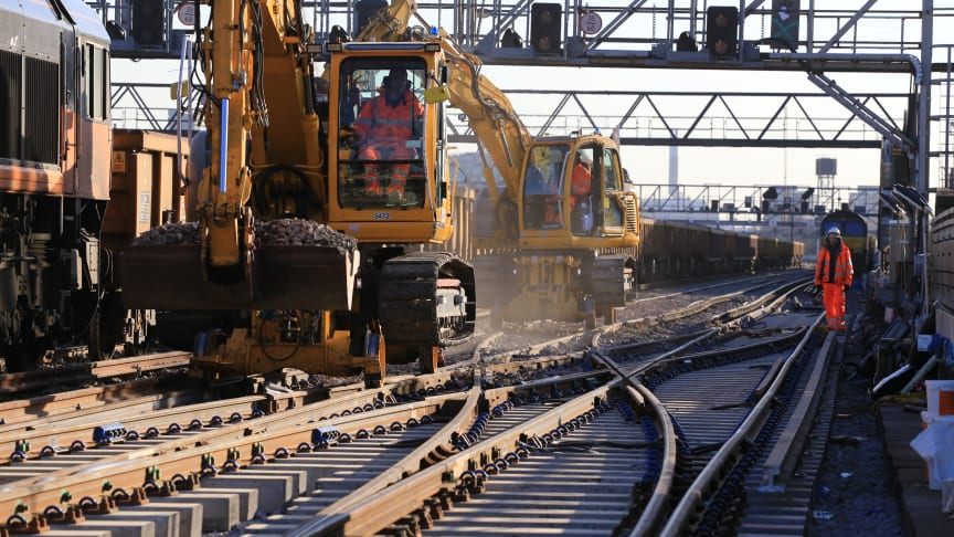 £11m railway upgrade means 9-day closure of the lines between Three Bridges, Brighton and Lewes in Sussex