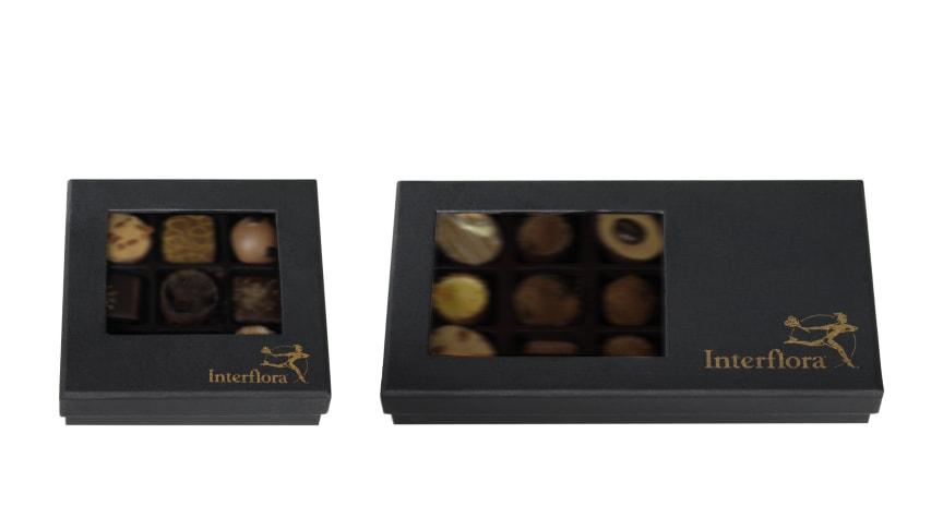 Återkallelsen gäller chokladaskar med 9 respektive 15 bitar