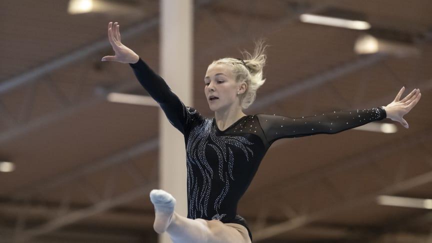 Ida Staafgård från GK-Motus Salto vann tre grenguld