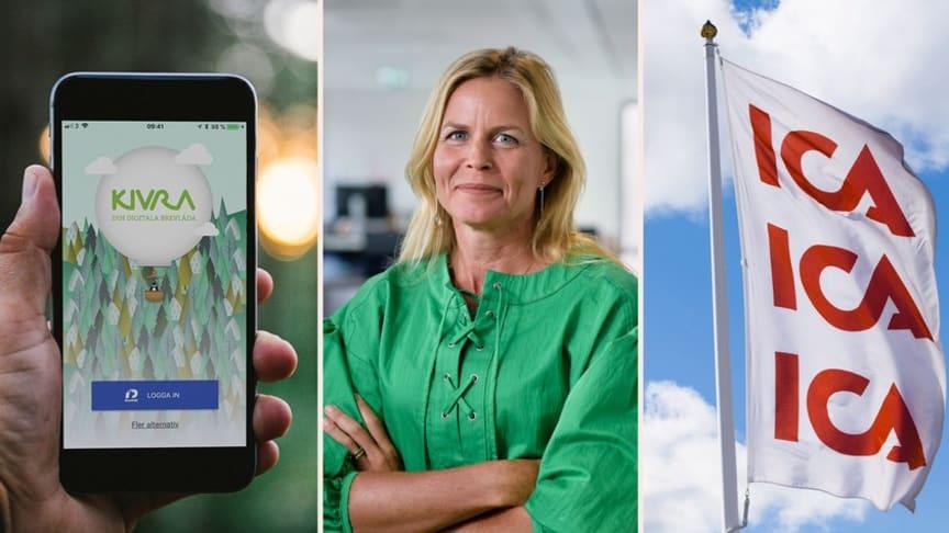 Kivras vd Anna Bäck. Foto: Di och TT.