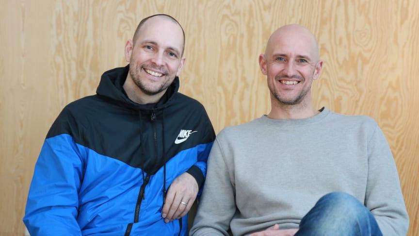Grundarna Simon Dahl och Mikael Östberg
