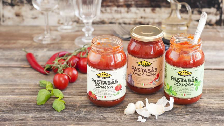 Vardagshjältar i ny design - Zeta pastasåser