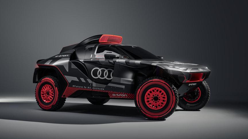Audi tester fremtidig teknologi ved Dakar Rally med Audi RS Q e-tron