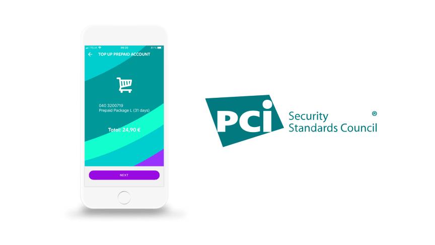 Smart Refill är certifierat enligt PCI DSS högsta säkerhetsnivå sedan 2011.